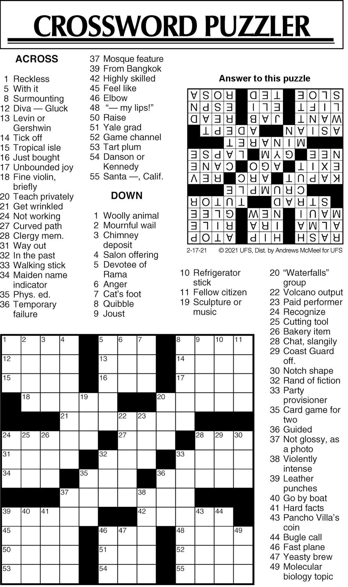 Puzzle 021721