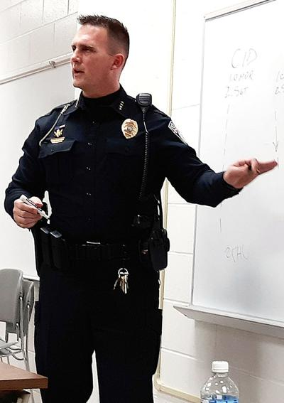 Chief, mayor address police academy students