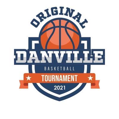 Original Danville Basketball Tournament logo