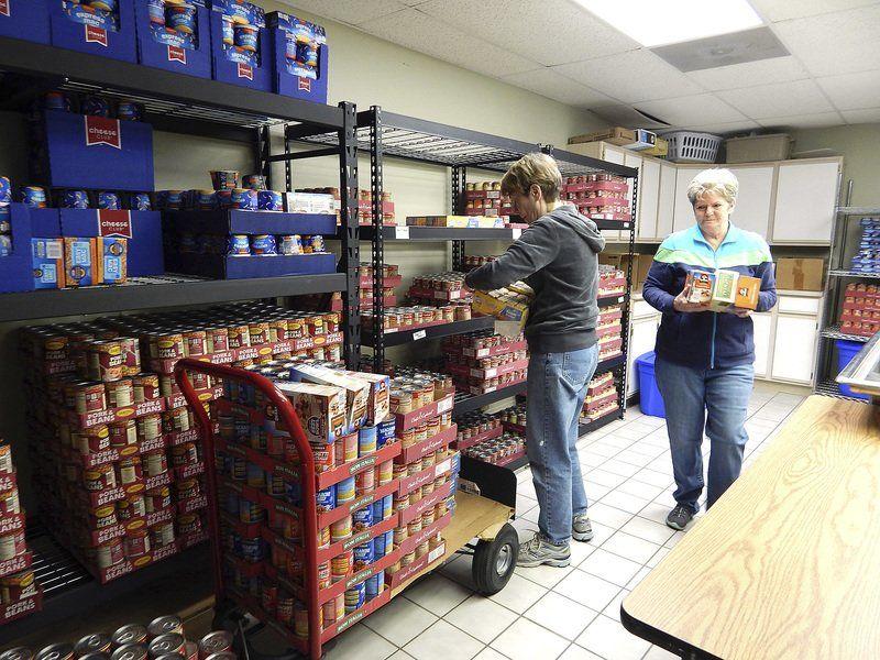 Food-filled backpacks help kids
