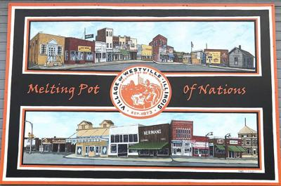 Historic mural is 'gift to Westville'