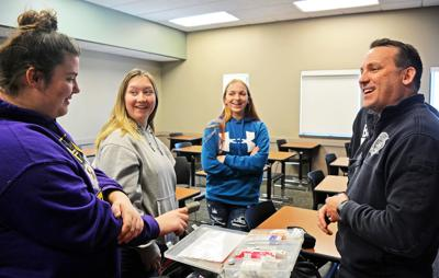 Area high school students learn about careers