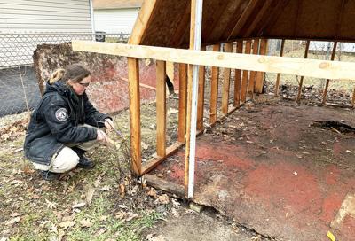 AmeriCorps team helping Habitat