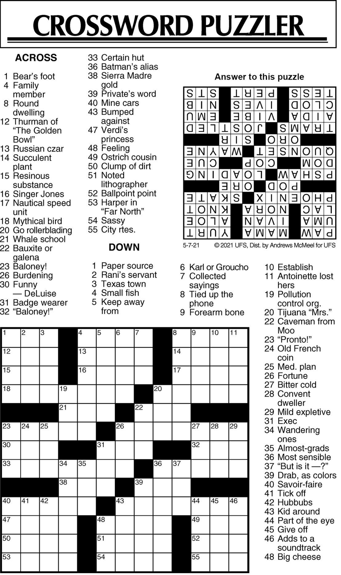Puzzle 050721