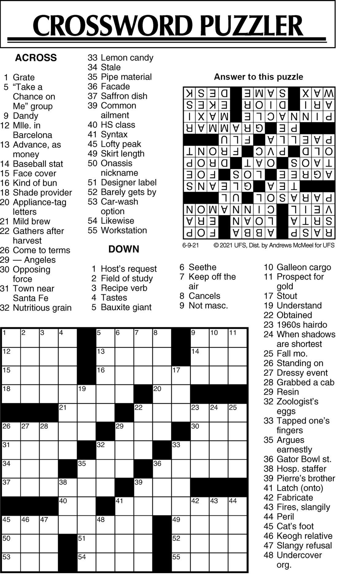 Puzzle 060921