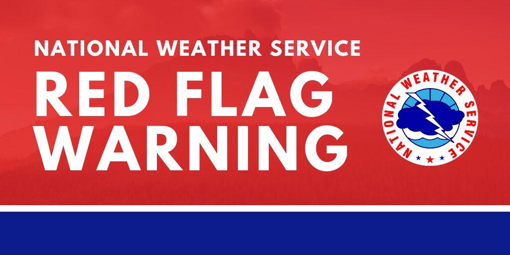 NWS red flag warning logo