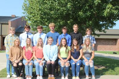 NVHS homecoming court