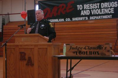 D.A.R.E. officer retires