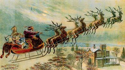 Can reindeer fly? Let children decide