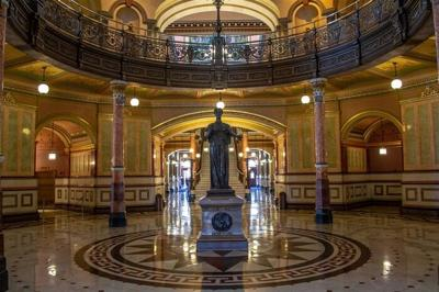 State Capitol Illinois inside