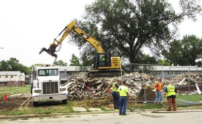 Demolitions continue at Fair Oaks