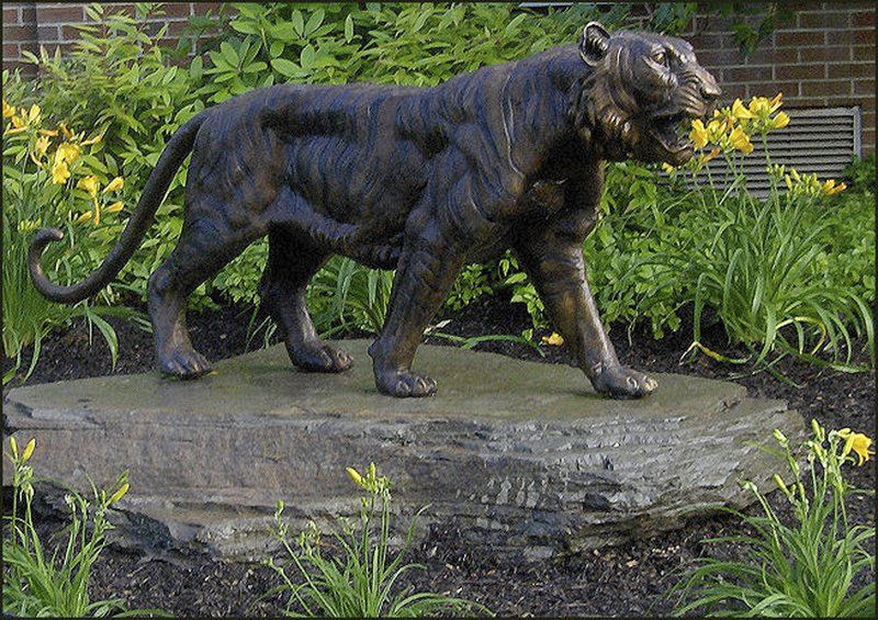 Tiger Statue, Scholarships Moving Ahead In Westville