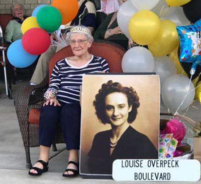 Overpeck celebrates 100th birthday with parade