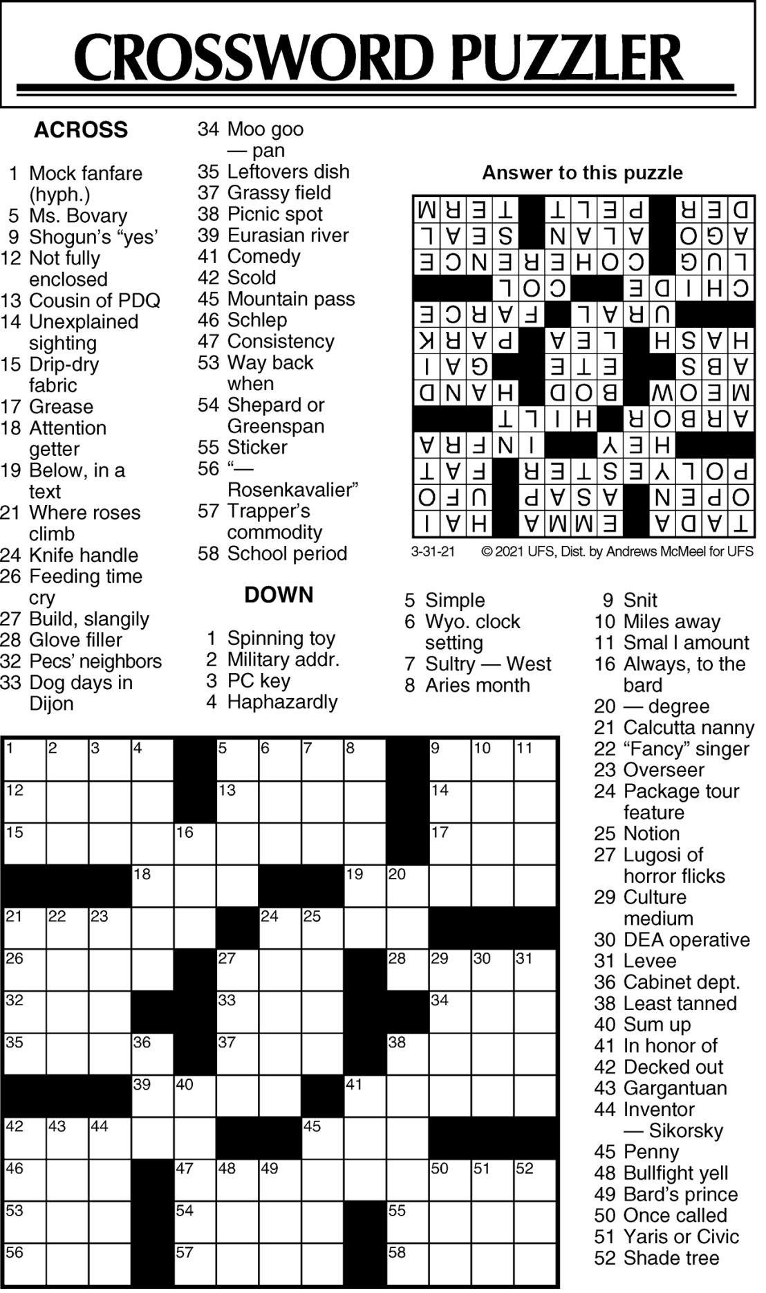 Puzzle 033121