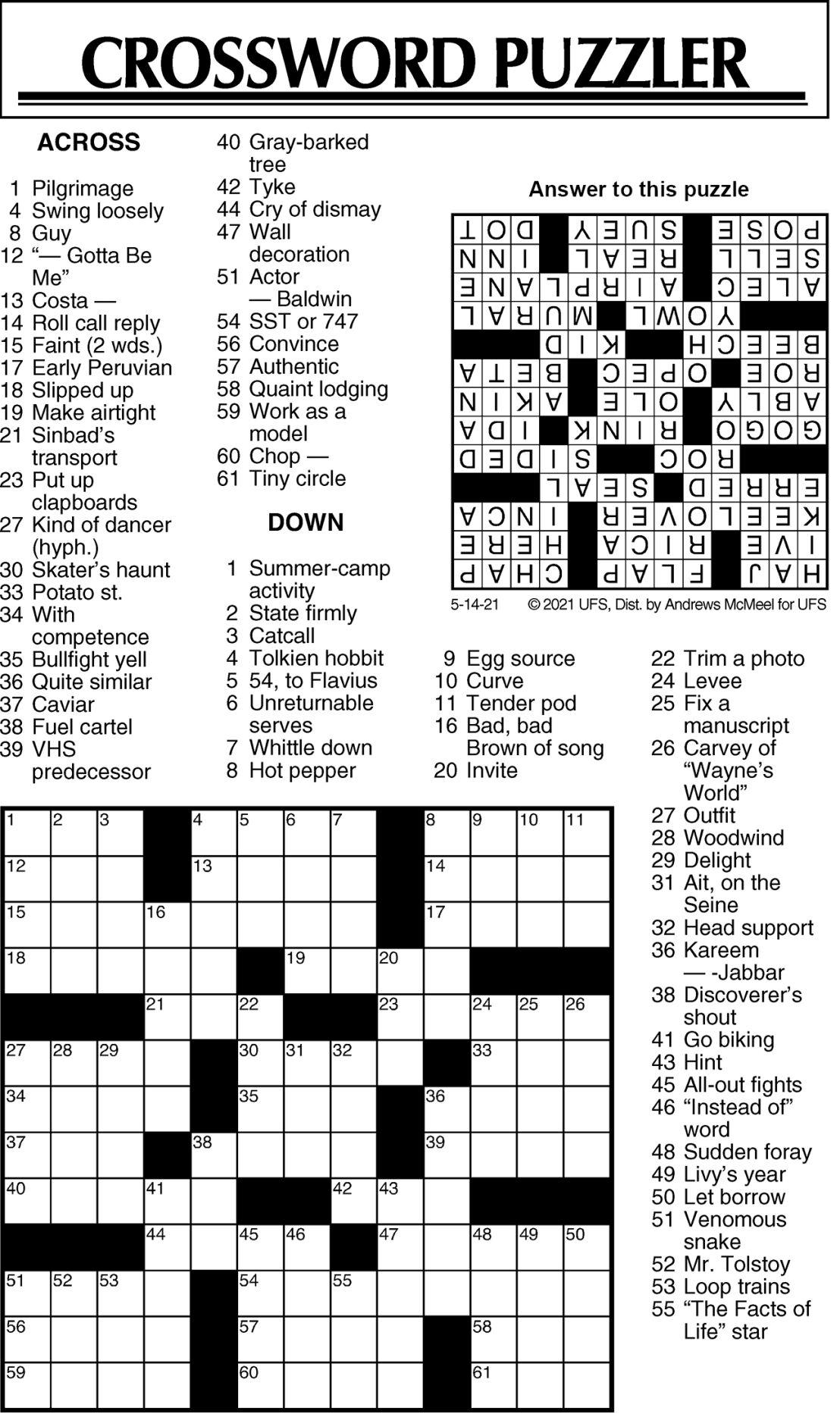 Puzzle 051421