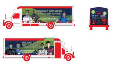 DMT proposed bus wrap