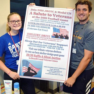 DHS students plan event for veterans