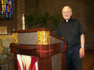 Priest retires from Holy Family after 21 years