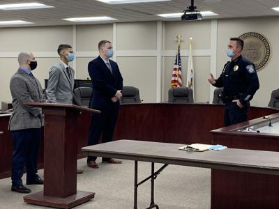 New Danville Police officers 012121