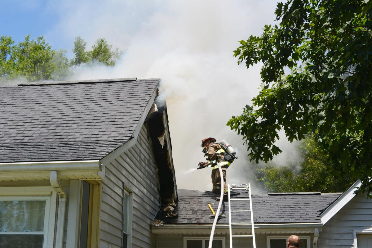 Illinois vermilion county fairmount - Firefighters Work To Extinguish A House Fire In Fairmount About Noon Tuesday More Than Six Area Fire Departments Initially Responded To The Scene