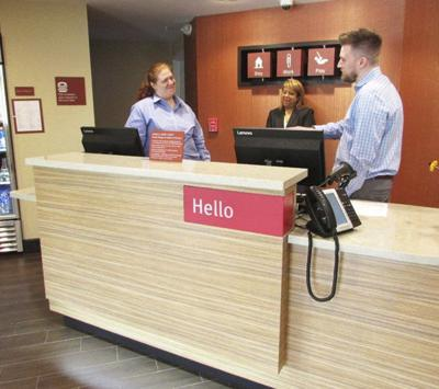 TownePlace Suites open on Lynch Road