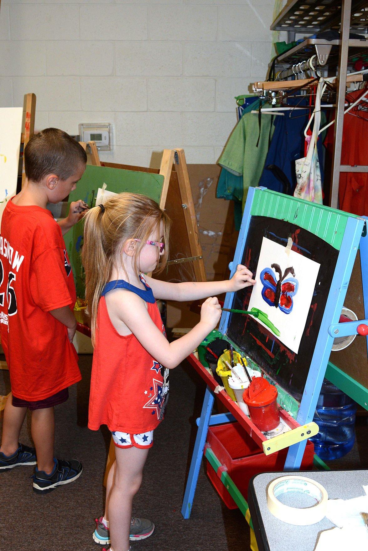 Danville Art League hosts Kinder Camp