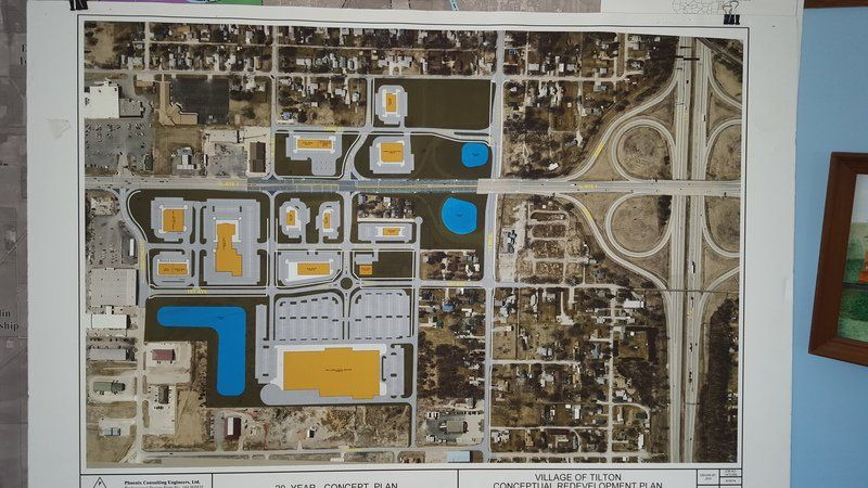 Big plans in store for Tilton | Local News | commercial-news.com on u.s. route 40 map, u.s. route 50 map, illinois county map,