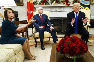 Trump threatens federal shutdown