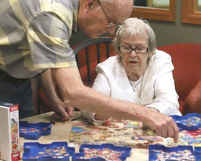 Seniors focus on pieces of the puzzle