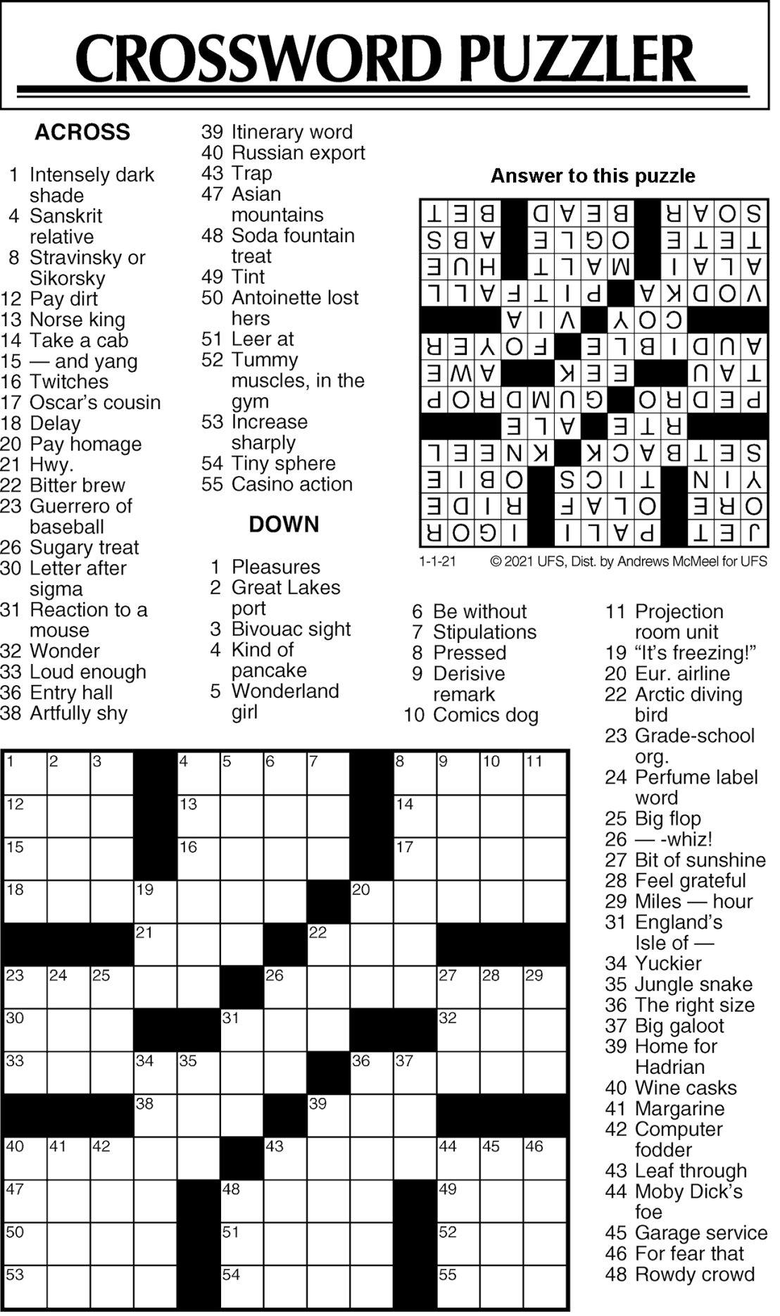 Puzzle 010121