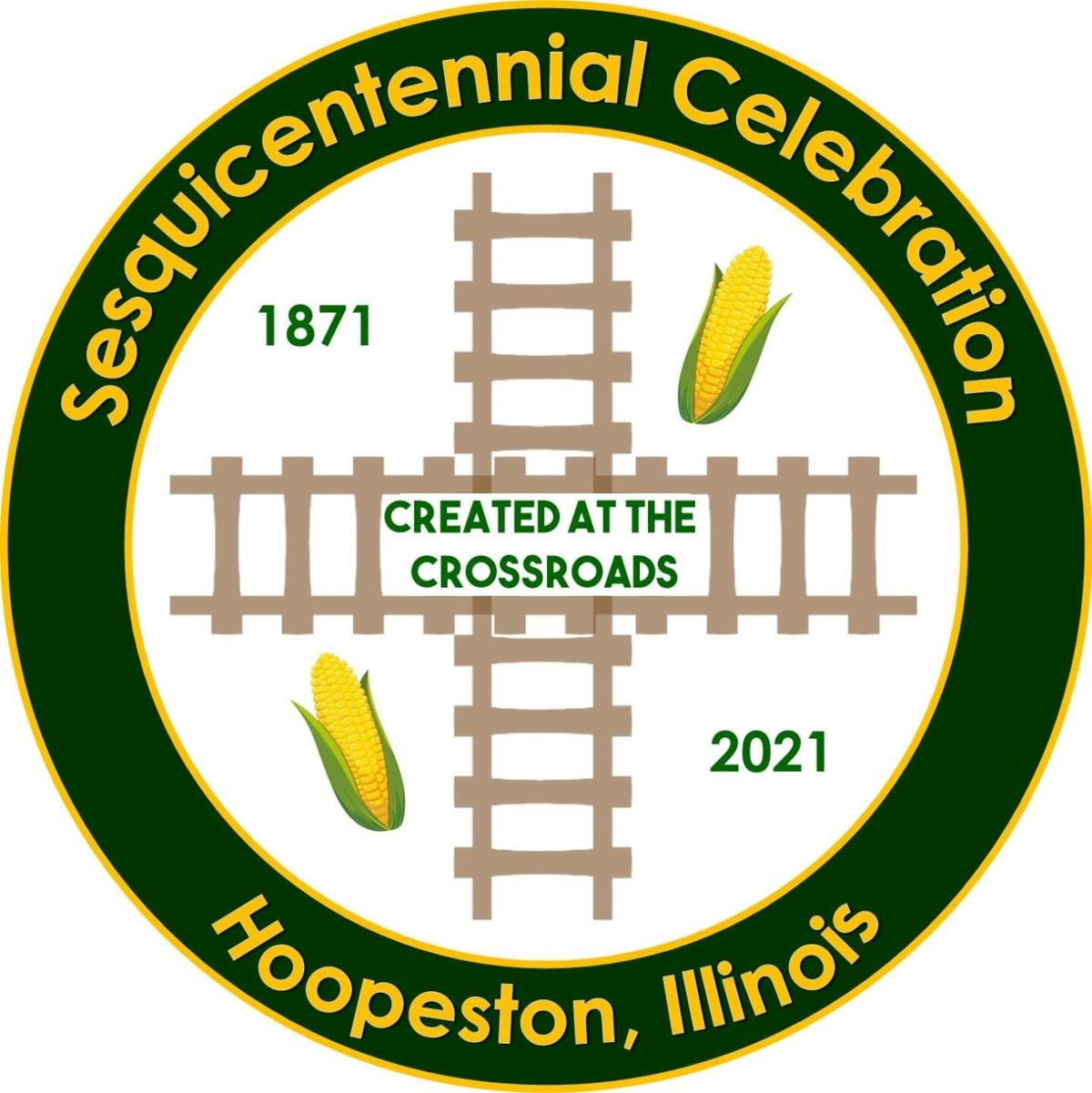 Hoopeston Sesquicentennial Logo