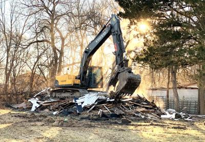 Demolitions moving along of decades-old abandoned buildings