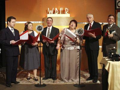 Actors present 'Wonderful Life' as radio show
