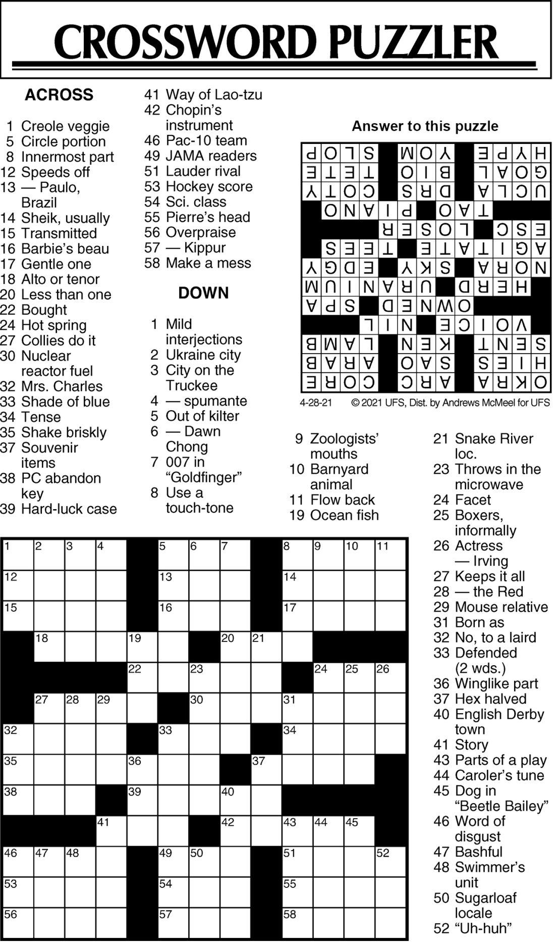 Puzzle 042821