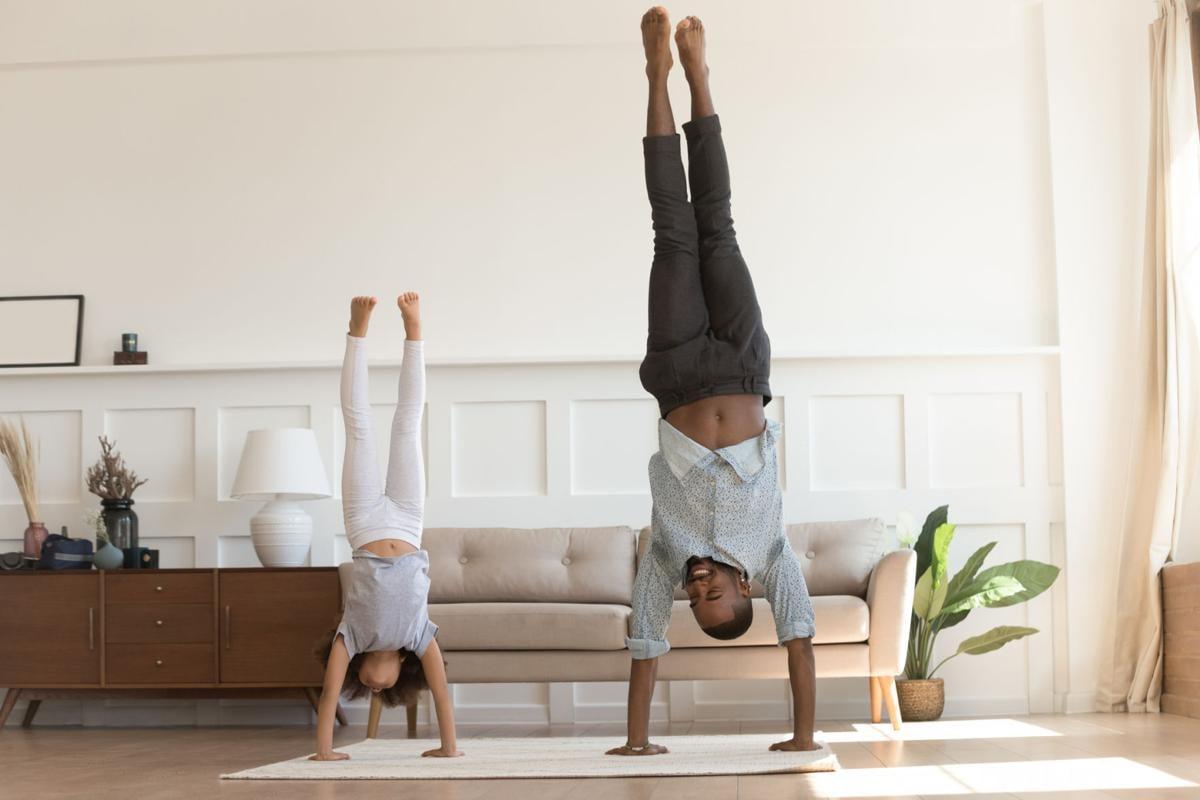 handstands at home