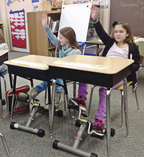 Under Desk Pedals Help Students Learn Better Armstrong Indiana Communityhealthmagazine