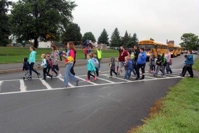 RA Walk to School