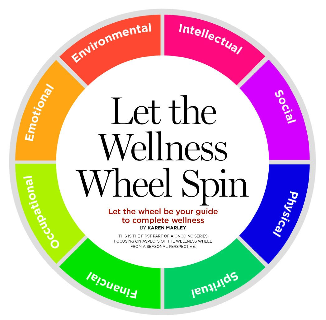 Worksheets Wellness Wheel Worksheet your guide to holiday happiness mind and body communityhealthmagazine com
