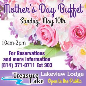 Treasure Lake Mothers Day Buffet Top Block