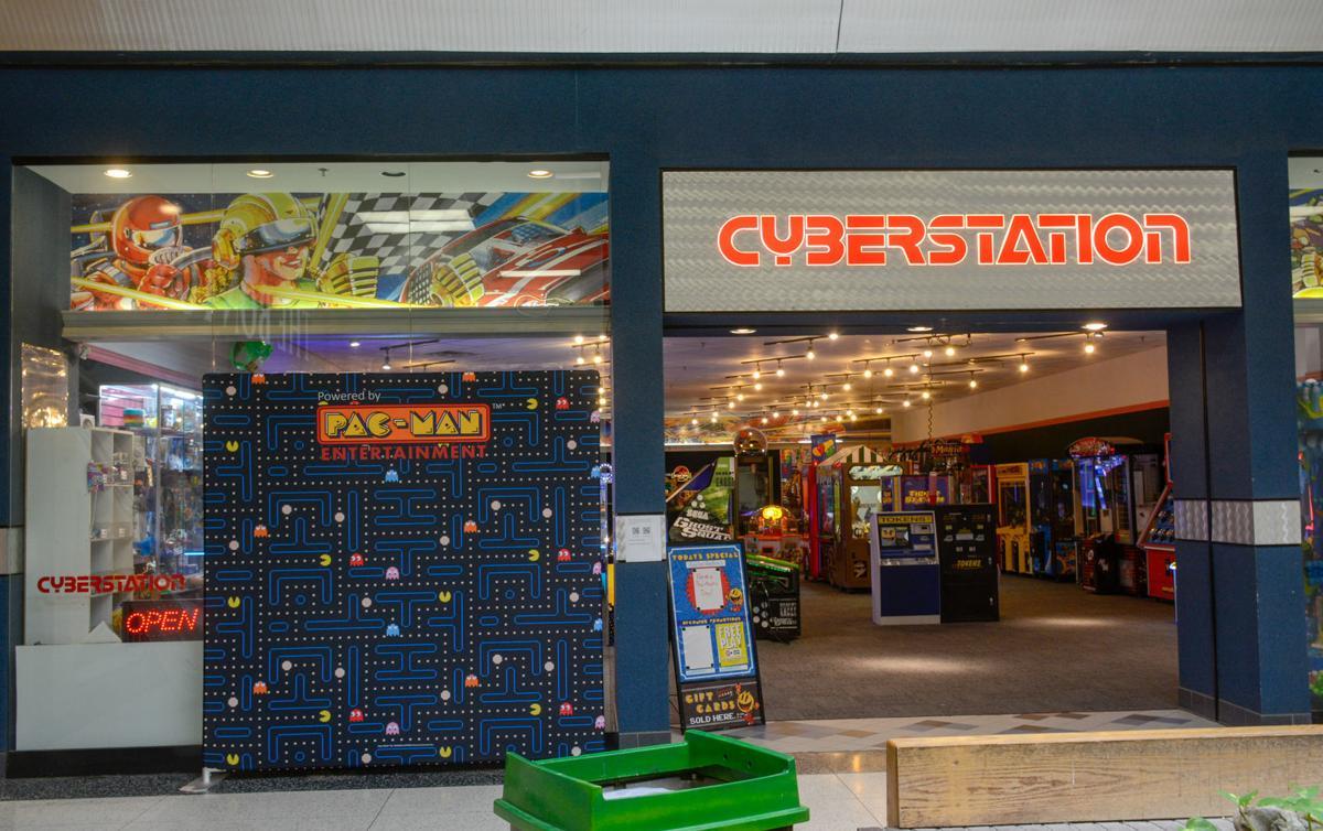 Cyberstation vandalized