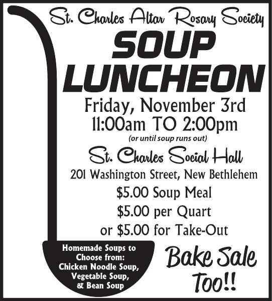 2x4 Soup Luncheon