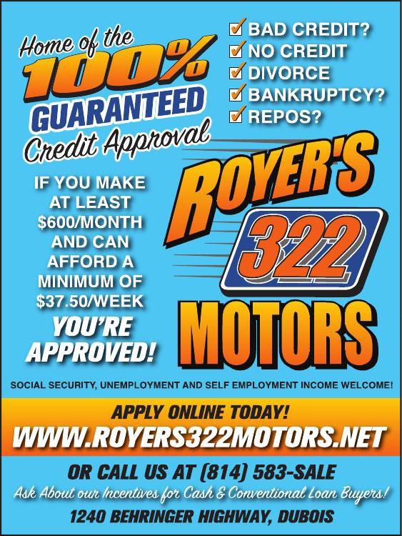 Royer's 322 Motors - #32260