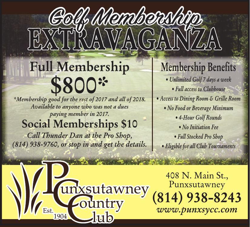 Punxsutawney Country Club