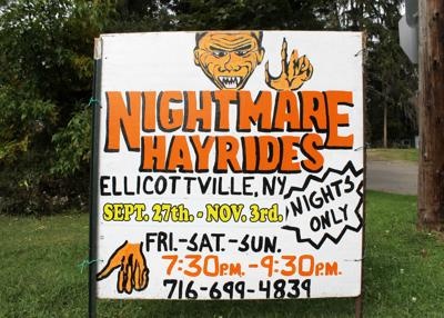 Nightmare Hayrides keep the scares coming in Ellicottville