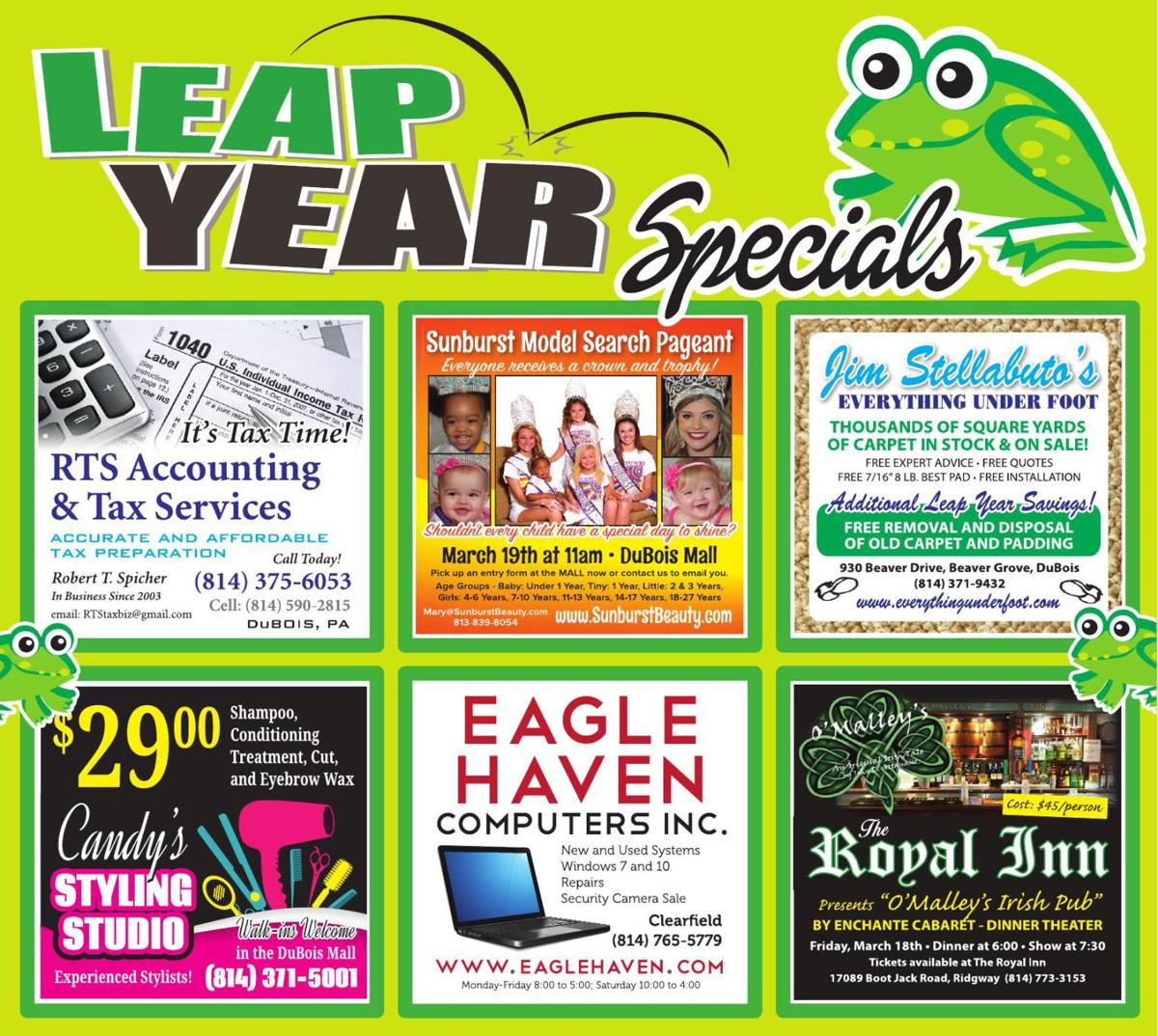Leap Year specials