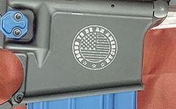 Engraved AR-15