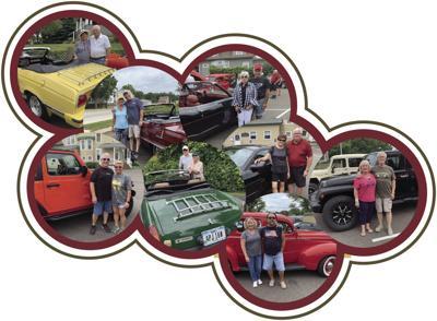 car cruise collage