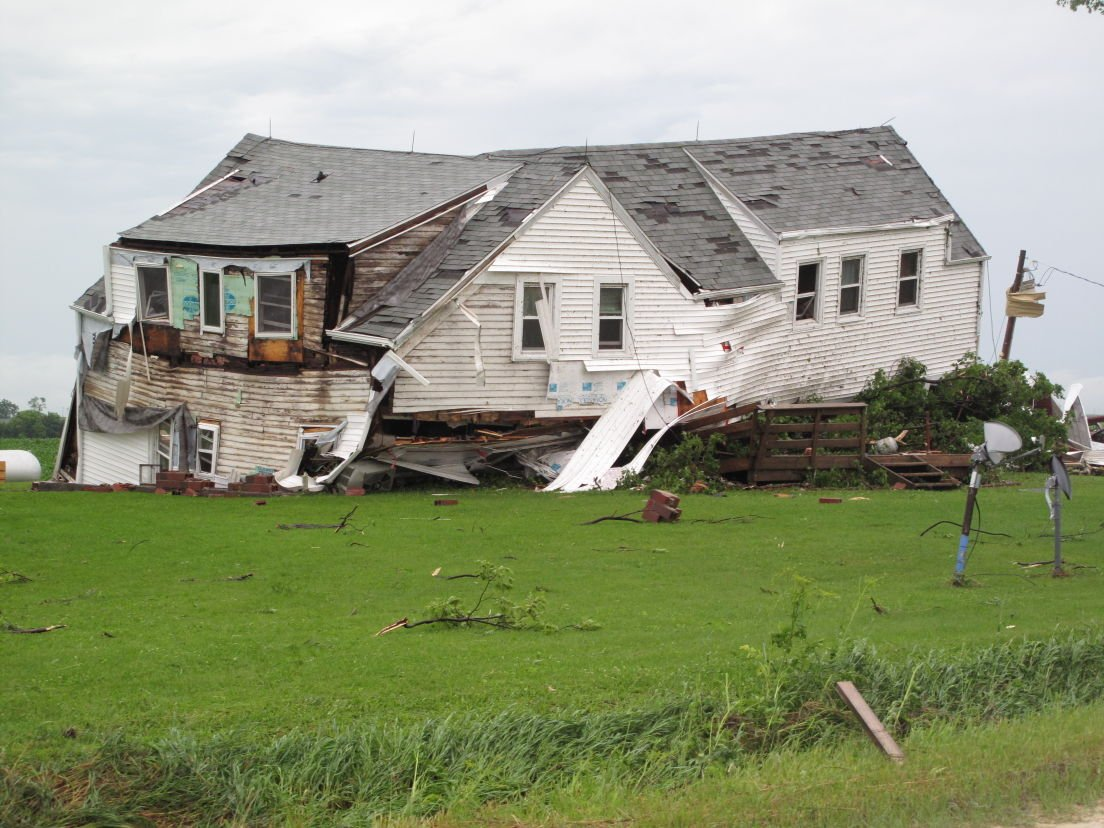 Couple trapped after house blown down around them news for House hits 88