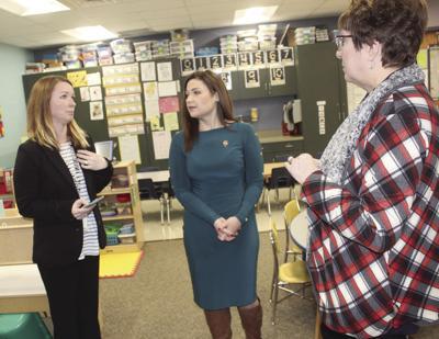 Finkenauer tours Little Husky Learning Center (copy)
