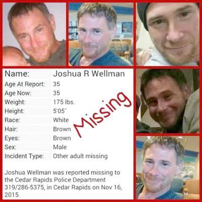 Vinton native still missing after six weeks